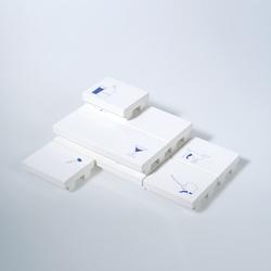 Set of 7 stackable serving plates | Bowls | Cor Unum