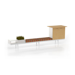 Level 34 | Waiting area benches | Vitra