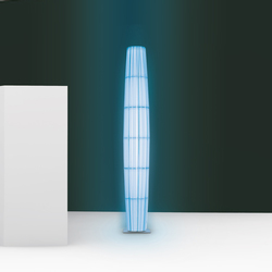 Colonne RVB/RGB H160 floor lamp | General lighting | Dix Heures Dix