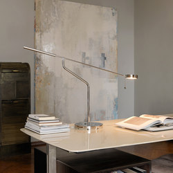 Three Sixty Lampe de table | Lampes de bureau | FontanaArte