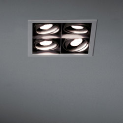 Mini multiple 4x MR16 GE | Focos reflectores | Modular Lighting Instruments