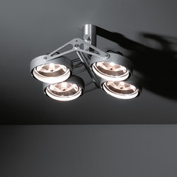Nomad 4x AR111 GE | Faretti a soffitto | Modular Lighting Instruments