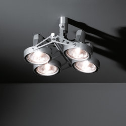 Nomad 4x PAR30 | Faretti a soffitto | Modular Lighting Instruments