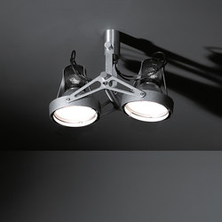 Nomad 2x CDM-T GE | Faretti a soffitto | Modular Lighting Instruments