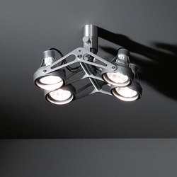 Nomad 4x GU10 | Faretti a soffitto | Modular Lighting Instruments