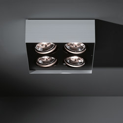 Multiple surface 4x AR111 GI | Ceiling-mounted spotlights | Modular Lighting Instruments
