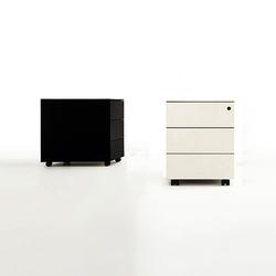Bureau Caisson | Caissons mobiles pour bureaux | Kristalia