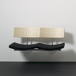 Sea wallmounted | Beam / traverse seating | Magnus Olesen