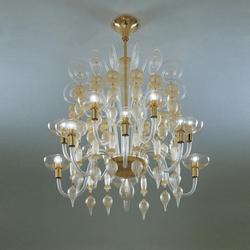 Collezione Carlo Scarpa | Ceiling suspended chandeliers | Venini