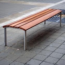 NeoRomántico Banqueta | Exterior benches | Santa & Cole