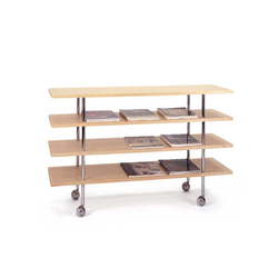 Etagére auf Rollen | Mi 1150 | Magazine holders / racks | Bruno Mathsson International