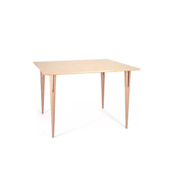 Table with split legs | Tables de repas | Bruno Mathsson International