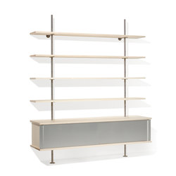 Eiermann shelving | Scaffali | Lampert