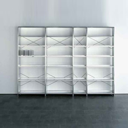 Aluminium-Regal | Shelves | Lehni