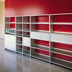 Aluminium shelves | Systèmes d'étagères | Lehni