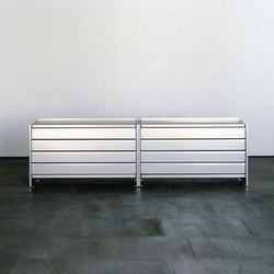 Aluminium-Regal | Sideboards | Lehni