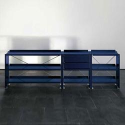 Aluminium shelves | Estantería | Lehni