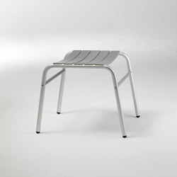 Alu 7 stool | Garden stools | seledue