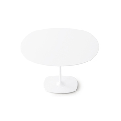 Dizzie | H 74 - Oval base | Tables de restaurant | Arper