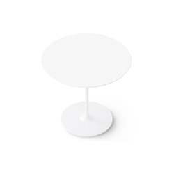 Dizzie | H 74 - Round base | Cafeteria tables | Arper