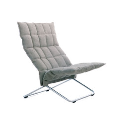 k Chair | wide | with Tubular Frame | Sessel | Woodnotes