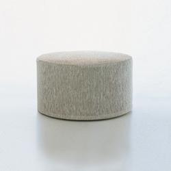 Cool cushion | round | Poufs / Polsterhocker | Woodnotes