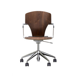 High End Task Chairs With Seat In Engineered Wood On Architonic