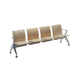 Airline | Sedute su trave | Vitra