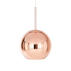 Copper Round Pendant 25cm | Iluminación general | Tom Dixon