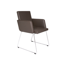 Just Skid frame Chair | Visitors chairs / Side chairs | KFF