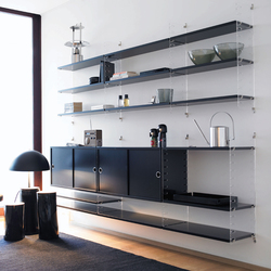string plex | Shelving systems | string furniture