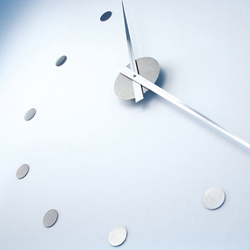 wall clock stainless steel | Horloges | Radius Design