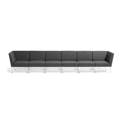 Qvarto modulares Sofa | Modulare Sitzgruppen | Blå Station