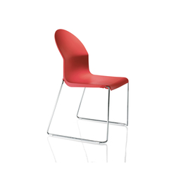 Aida Chair | Visitors chairs / Side chairs | Magis