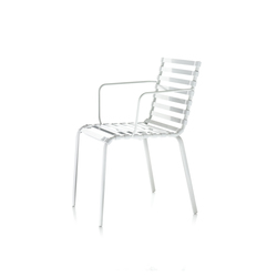 Striped Sedia Braccioli | Restaurant chairs | Magis