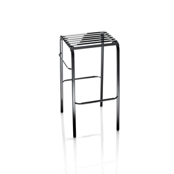 Striped Bar stool | Taburetes de bar | Magis
