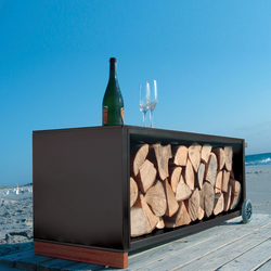 kaminholzwagen | Log holders | Radius Design