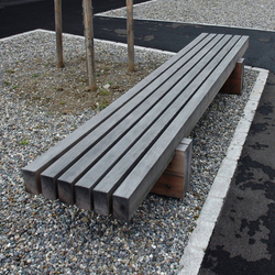 Sol Bench without backrest | Exterior benches | BURRI