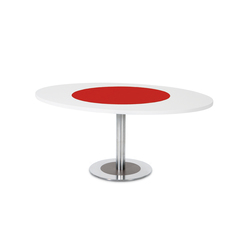 4to8 oval table | Meeting room tables | Desalto