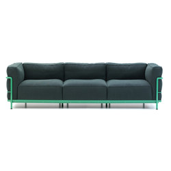 LC3 3-seater | Sofás lounge | Cassina