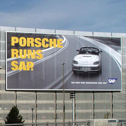Mega poster system | Media displays | BURRI