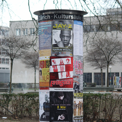 Small poster/advertising pillar | Advertising displays | BURRI