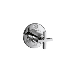AXOR Citterio Trio|Quattro Shut-off and Diverter Valve for concealed installation with cross handle DN20 |  | AXOR