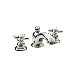 AXOR Carlton 3-hole basin mixer with cross handles DN15 | Wash basin taps | AXOR