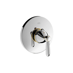 AXOR Carlton thermostatic mixer for concealed installation with lever handle | Shower controls | AXOR