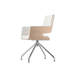 S 843 | Visitors chairs / Side chairs | Thonet