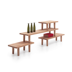 Oak Table Module | Couchtische | Cappellini