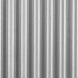Slow Wave | 13 aluminium sheet | Metal sheets / panels | Fractal