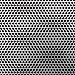Standard Perfo | 25 aluminium sheet | Tôles / plaques en métal | Fractal
