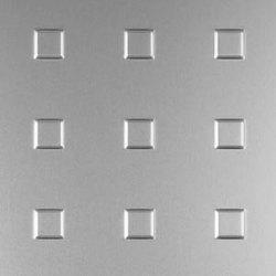 Square | 29 aluminium sheet | Paneles / placas de metal | Fractal